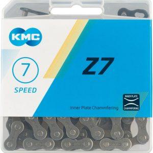 CADENA KMC Z7 7 VEL. GRAY/BROWN