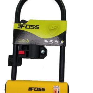 CANDADO FOSS U-LOCK 110X230MM  AMARILLO 18027